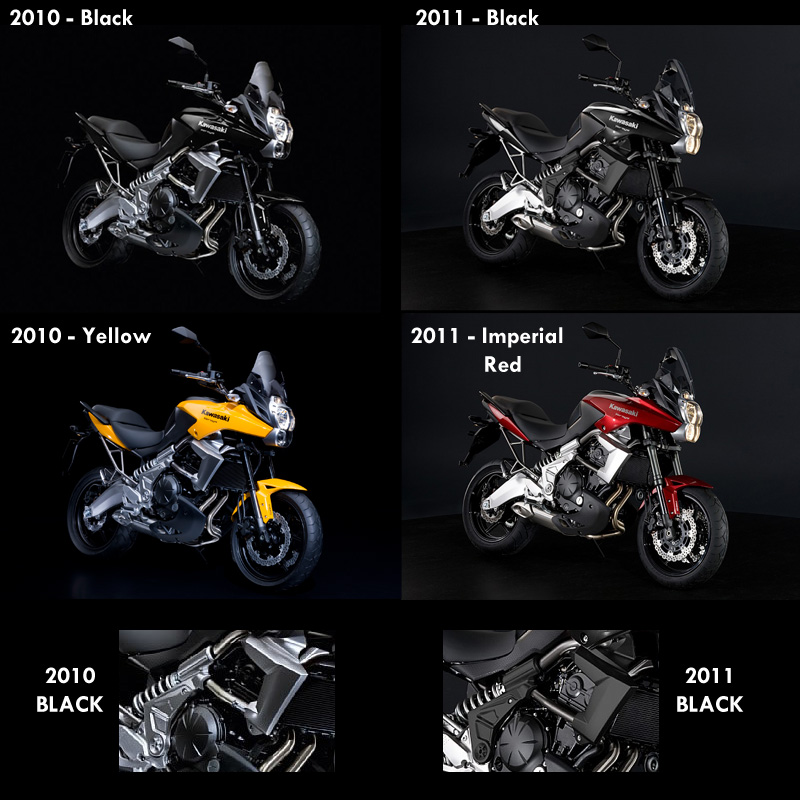 Kawasaki 2010 Models. that 2010 and 2011 models.